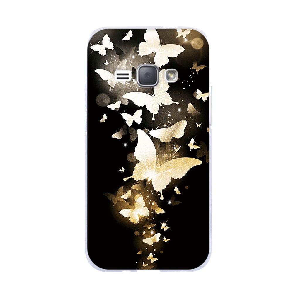 Tas Untuk Samsung Galaxy J1 J3 J5 2016 J120F Kasus Lembut TPU Funda - Aksesori dan suku cadang ponsel - Foto 4