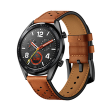 huawei gt watch band for Samsung Galaxy watch 46mm/Gear S3 Frontier Classic strap 22mm watchband Genuine Leather bracelet
