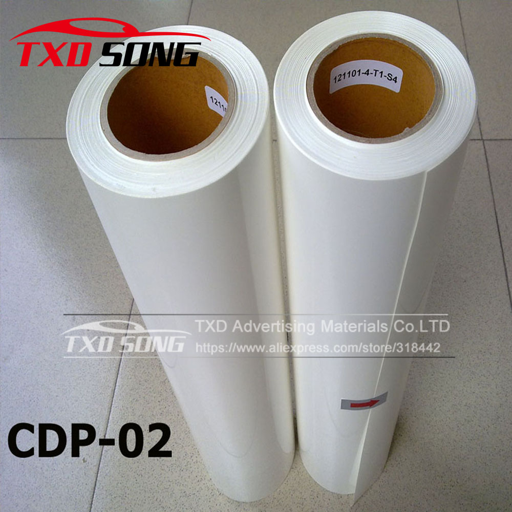Wholesale PVC heat transfer vinyl film by free shipping with size 0 5x25m per roll CDP