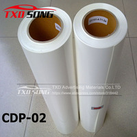 Wholesale PVC heat transfer vinyl film by free shipping with size:0.5x25m per roll CDP 02 WHITE