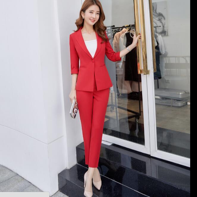 dba018cbb71832 Rouge Bureau Beige Plus Taille rose Et Travail Formelle noir Mode Manches  Long Femmes Vêtements Dames ...