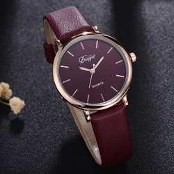 Для женщин Мода Роскошные Кварцевые часы