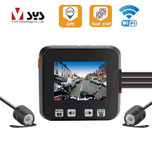 V SYS M6H WiFi Dual Waterproof HD 720P Camera Recorder Motorcycle DVR Smart Detection Dash Cam