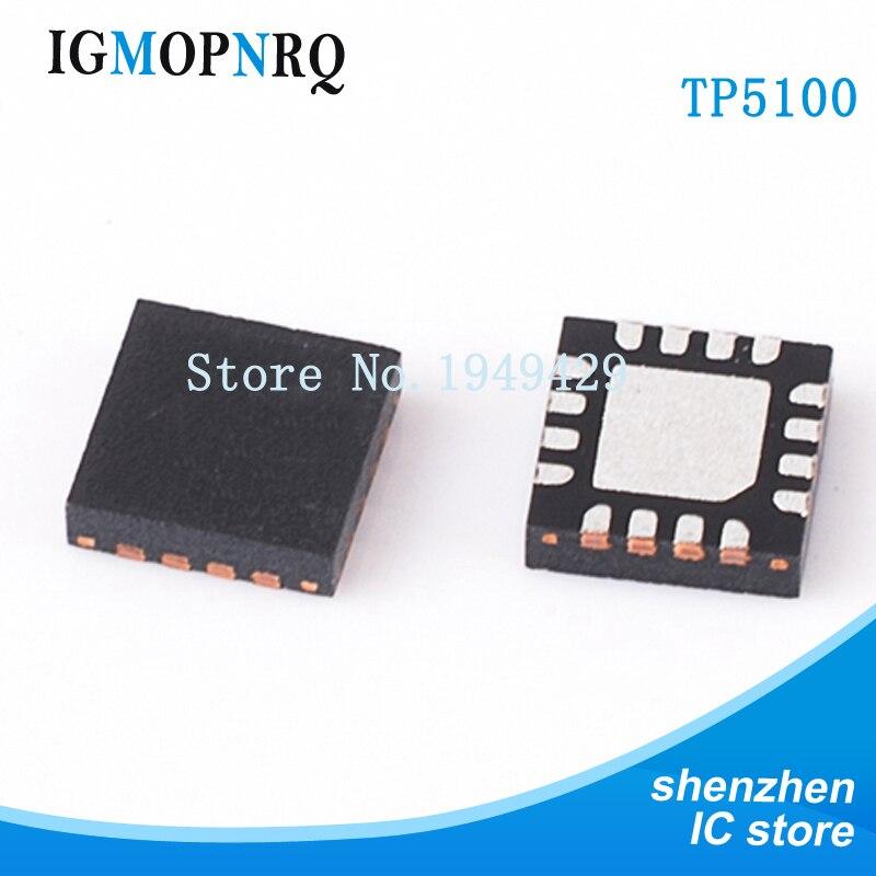Бесплатная доставка 5 шт./лот TP5100 QFN управление заряда батареи IC Nanking расширение новый оригинальный