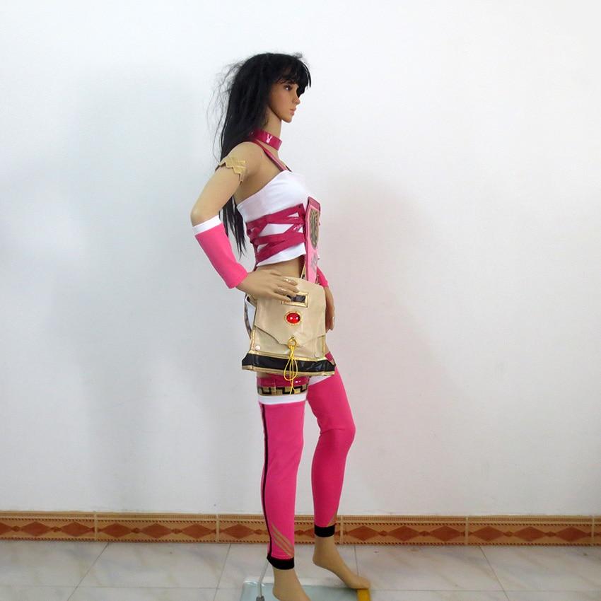 Final Fantasy XIII-2 FF 13-2 Serah Farron Dress Cosplay Outfit Costume