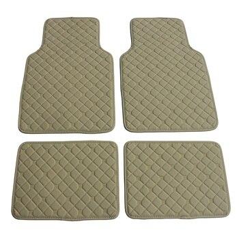 Custom Universal Right hand drive/Left hand drive Car Floor Mats For Volvo 2018 Car Styling new arrival Car floor Mats carpets