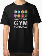 Funny Shirt Making Your Own Websites MenS I Go To The Gymer Everyday Short Sleeve Gift Crew Neck Shirts
