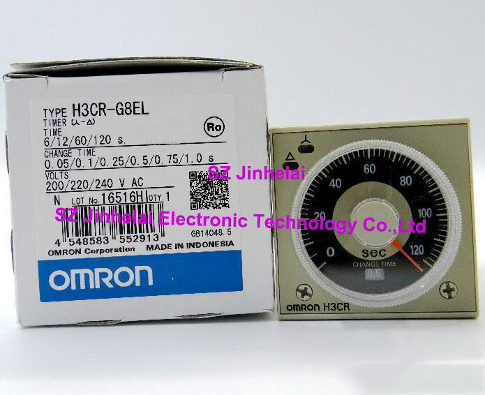 H3CR-G8EL  New and original  OMRON  TIME RELAY   200/220/240VAC