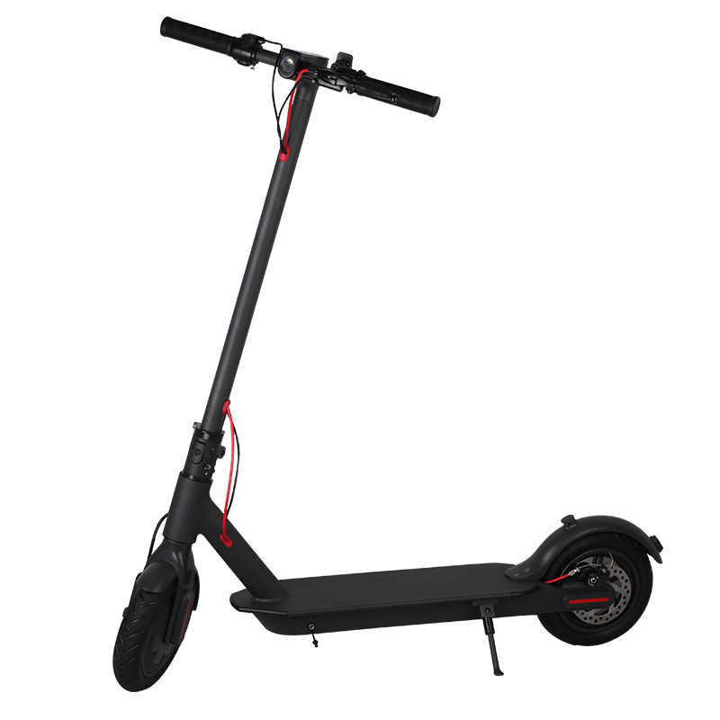 350W Adult Electric Scooter Foldable Aluminum Alloy 2 Wheels 8 Inches lithium electric Scooter drive professional adult foldable scooter 2 wheels shock absorption non electric 100kg bearing aluminum alloy hoverboard hot sale