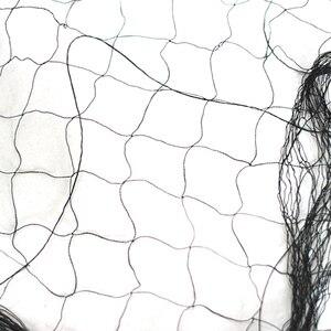 Image 3 - Vườn Chống Gió Chống Chim Polyester 110D/2 20X5M 15Mm Thắt Nút Sương Lưới 1 Cái