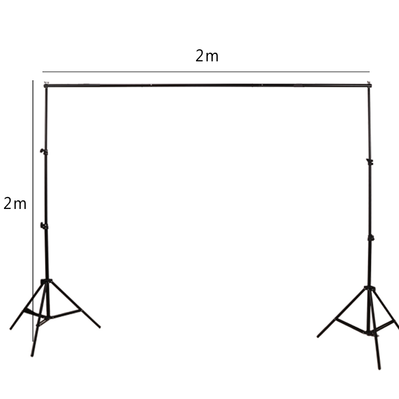 GSKAIWEN Backdrops Frame Background Support System Photography Studio Background Holder Camera Photo Accessories with Carry Bag 2
