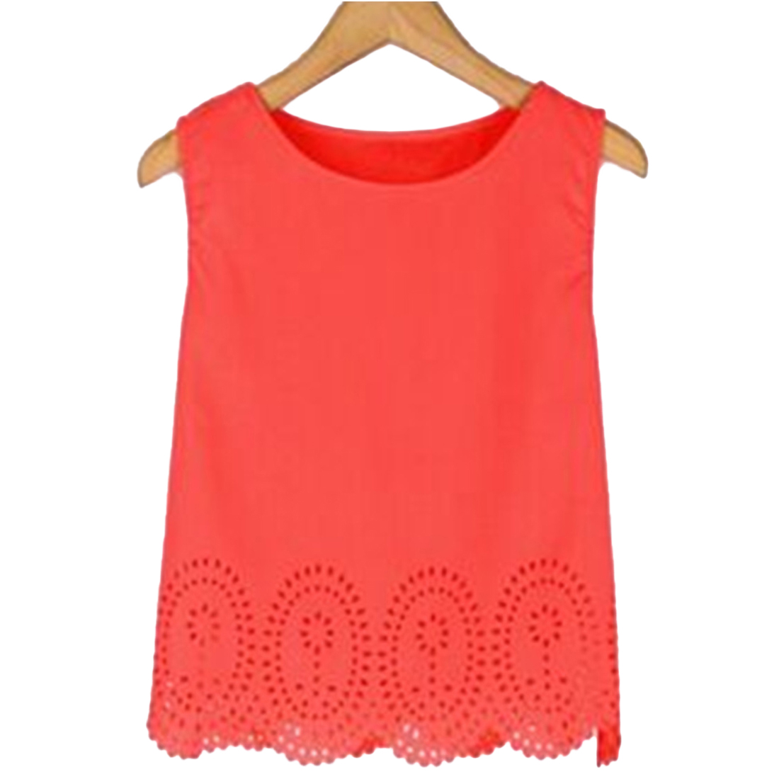 Women Sexy Crop Top Vintage Tops Female Summer Vest -9797