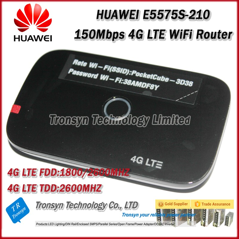 все цены на Wholesale Free Shipping Original Unlock 150Mbps HUAWEI E5575S-210 Protable 4G LTE WiFi Router Support LTE FDD B3 B7 TDD B38