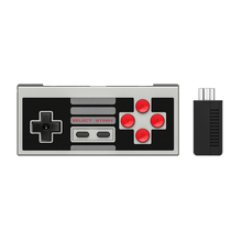 8Bitdo NES30 Wireless Controller Set with Bluetooth Retro Receiver for Mini  NES SFC Classic Edition