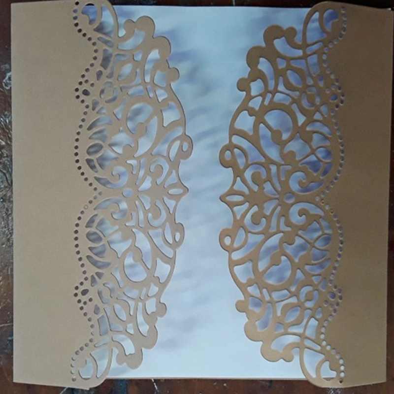 Membuat Scrapbook Kartu Ucapan Dekorasi Renda Hollow Frame Metal Cutting Dies Sablon Frame Embossing Template Drop Pengiriman