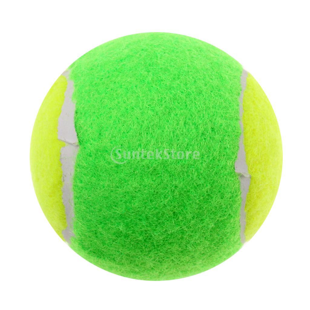 High Elasticity Pressureless Junior Youth Beginner Training Tennis Balls Dog Toy Game Balls