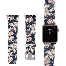 все цены на Silicone Sport strap For Apple Watch band 42mm 38mm correa Iwatch series 4/3/2/1 44mm/40mm wrist bracelet watchband belt онлайн