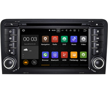 Android 5.1.1! Quad Core 7 Inch In Dash Car DVD Player For Audi A3 2002-2011 With Canbus Wifi GPS Support DAB BT Radio Free Map