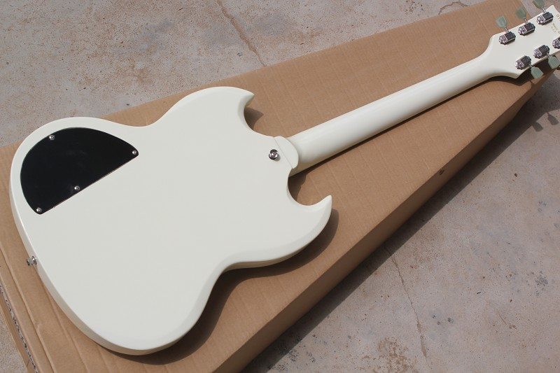 Free Shipping Factory custom shop New high quality ocean white  SG Electric Guitar 914 free shipping chinese factory custom 2015 100