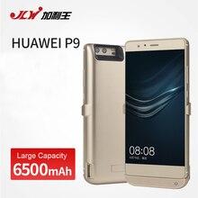 Jlw 6500 мАч внешний телефон аккумулятор зарядное устройство чехол для huawei p9 назад клип батареи резервного питания от аккумуляторных батарей чехол для huawei p9