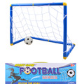 Niños trompeta puertas De Fútbol de Fútbol conjuntos de juegos de deportes al aire libre desmontable ajuste fútbol enviar bomba
