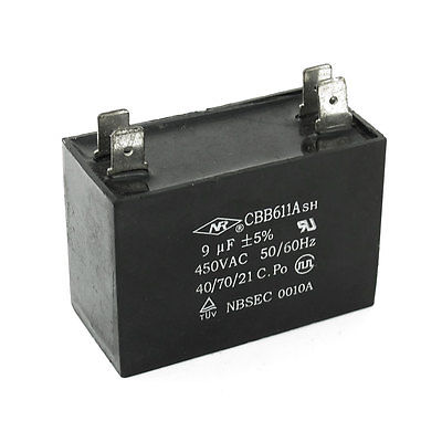Cbb65 Air Conditioner Motor Start Up Run Capacitor 30uf
