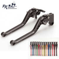 FX CNC MIX Color Motorcycle Brake Clutch Lever Adjustable For Kawasaki VERSYS 650cc 2006 - 2008 ER-5 ER5 2004 - 2005 ZXR400