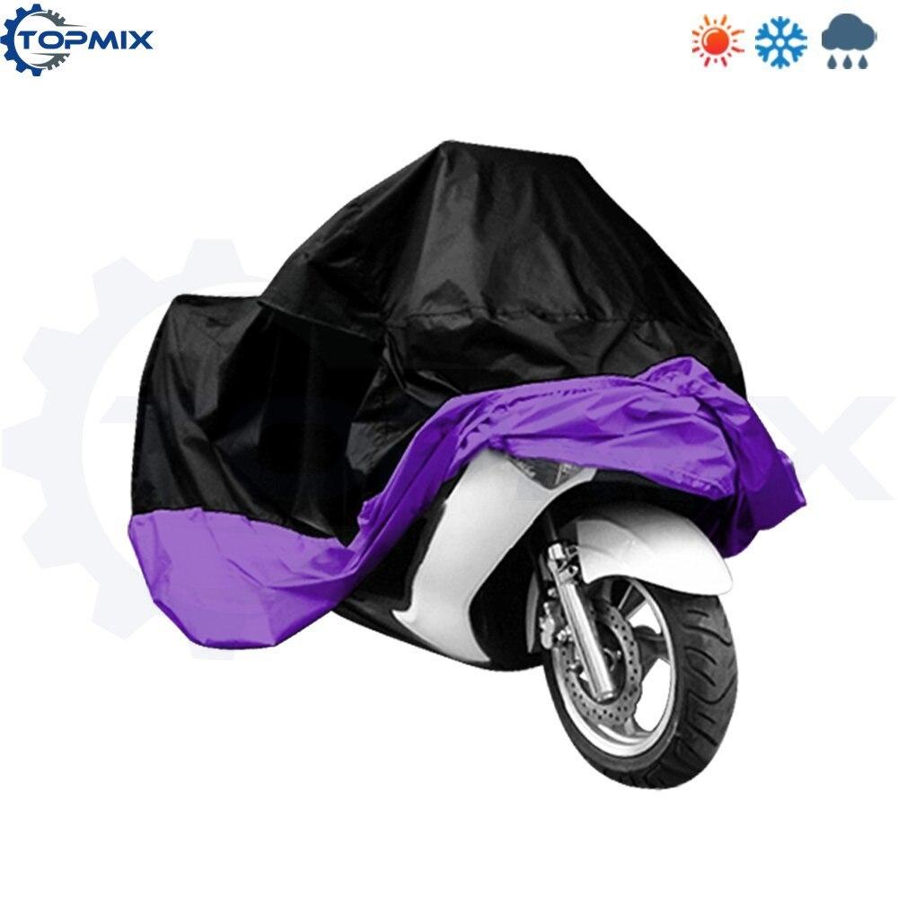 motorcycle cover-BlackPurple 2