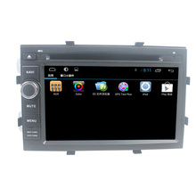 For Chevrolet Cobalt/spin/onix Cassette player with Android 4.4+3G+Wifi+DVD+Radio+BT+Ipod list+USB +SWC+ATV+GPS+MP4/MP5+Canbus