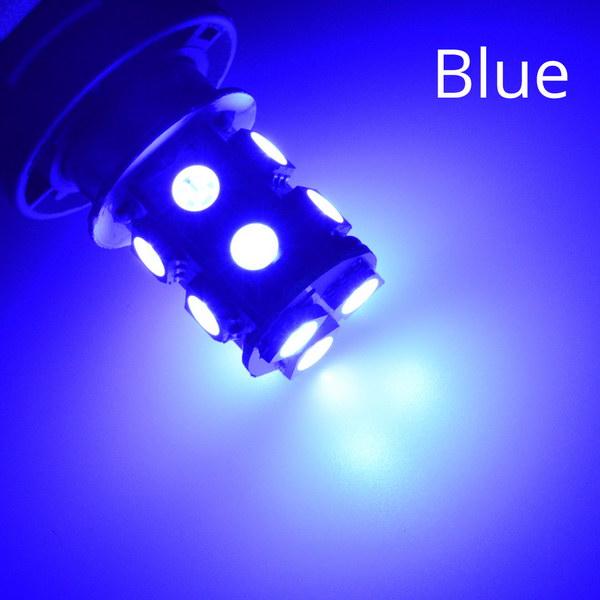 1156 BA15S 1157 BAY15D P21W BA15D 13Led 5050 Автомобильные светодиодные поворотные парковочные сигнальные огни, тормозные задние лампы, автомобильные задние лампы заднего хода, DC 12 В - Испускаемый цвет: Синий
