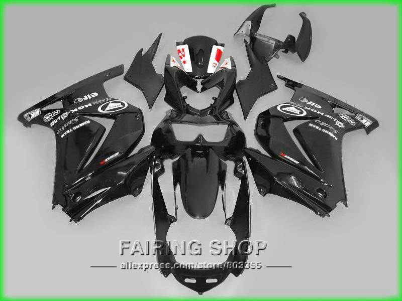 For Kawasaki Fairings Ninja 250r 2008 - 2014 ( 100%fit ) ZX250R 08 -14 Full plastic parts Fairing kit S74