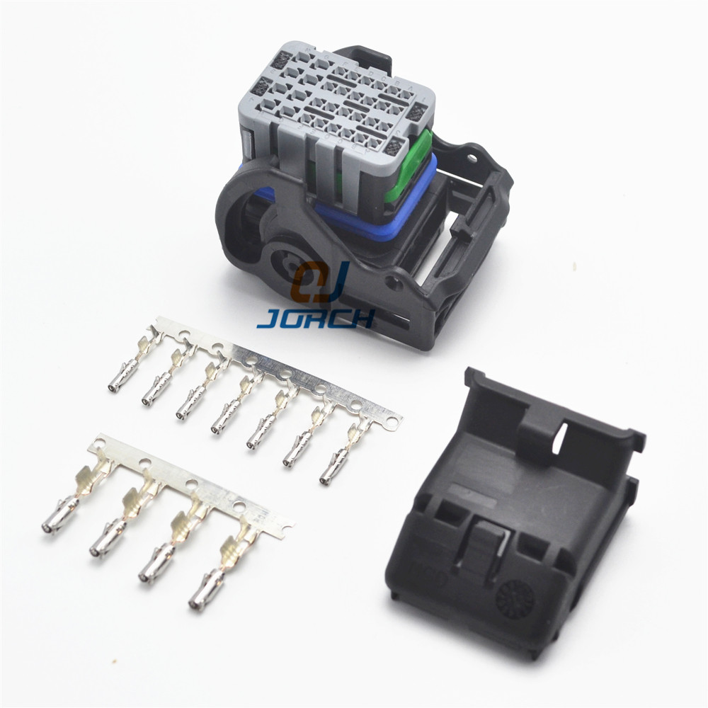 Free Shipping 1set 32pin Auto Molex Wiring Plug Connector Cable Harness Ecu Connectors 64319-1211 With Crimpiung Terminals