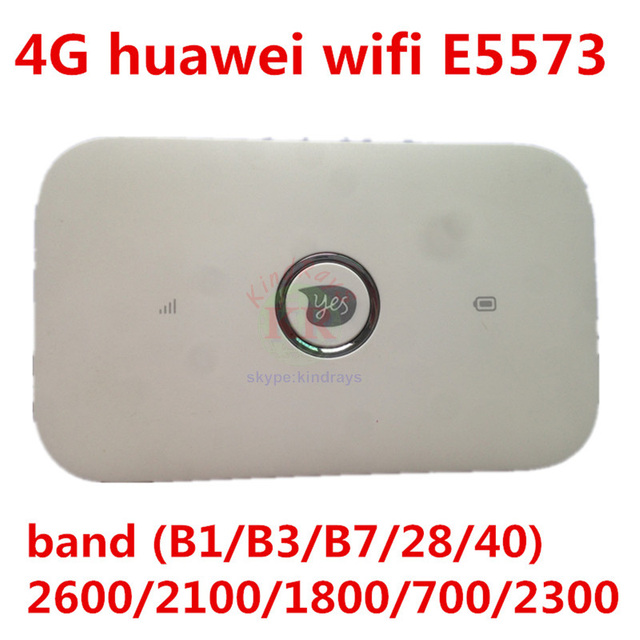 US $40 64 33% OFF|Huawei E5573 E5573s 606 Unlocked 3G/4G wifi router mifi  dongle Wireless Hotspot 4g router-in 3G/4G Routers from Computer & Office  on