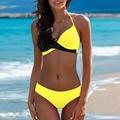 Große Größe Bademode Frauen Große Sexy Brazilian Bikini Set Strand Tragen Große Größe Badeanzug Push Up Biquinis 2XL XS * E