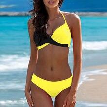 Grote Size Badmode Vrouwen Grote Badpak Sexy Braziliaanse Bikini Set Beach Wear Grote Maat Badpak Push Up Biquinis 2XL XS * E