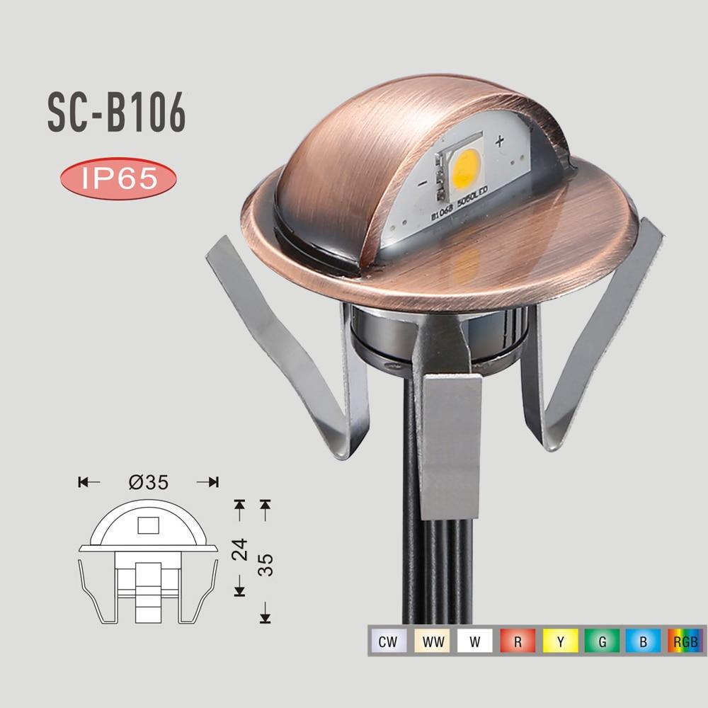 ٩(^‿^)۶Fvtled impermeable IP67 cubierta LED luz al aire libre ...