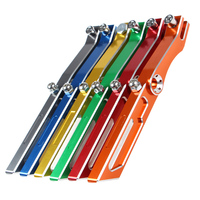 Aluminium alloy 280mm Motorcycles Kickstand Kick Side Stand Motorcycle Scooter Street Standard For Land BWS/TTX/SMAX