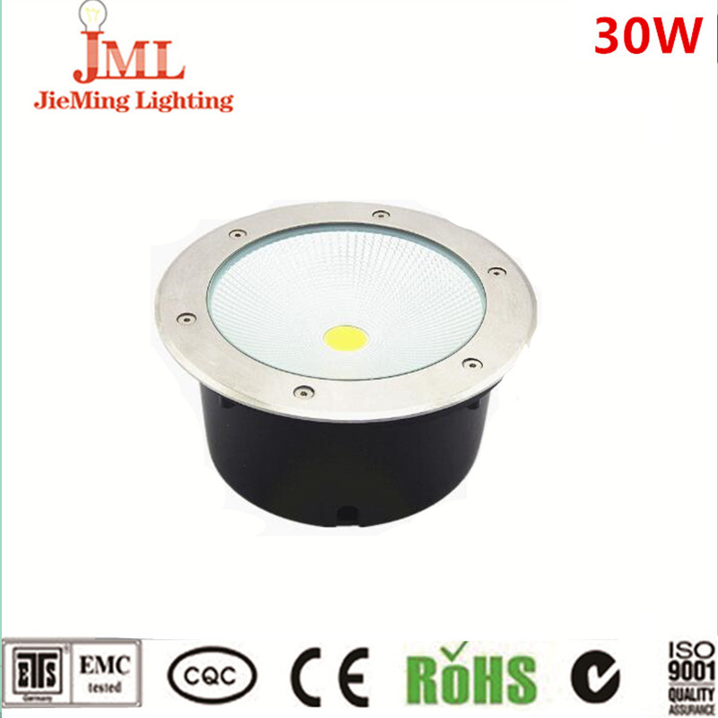 New Arrival 10W 20W 30W 50W COB Underground Light floor light Outdoor round recessed inground light IP67 waterproof unground free shipping ip68 10w 20w 30w 50w led cob underground light cob inground light diameter 250mm ac85 265v led outdoor lamp