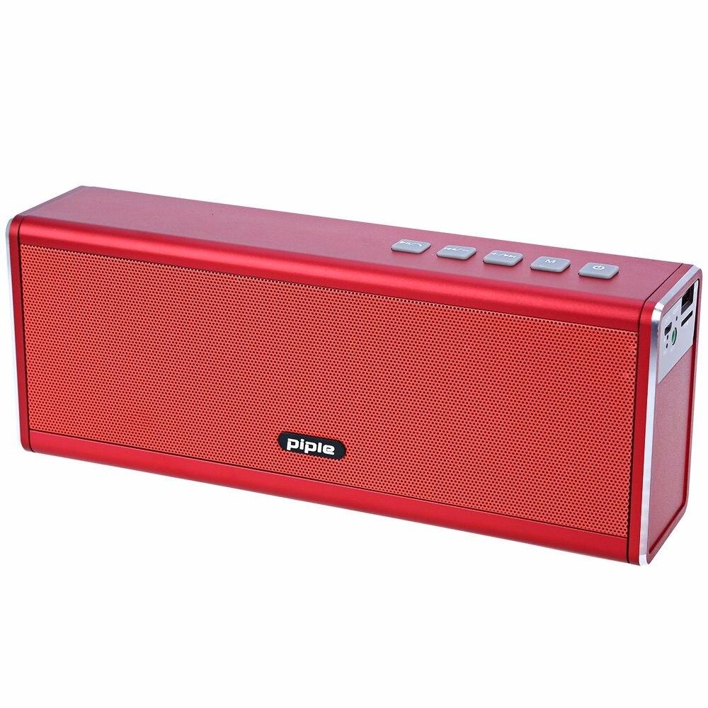 S5 Altavoz Bluetooth Banco de la Energía 20 W Altavoz Portátil Mini Altavoz de la Computadora Inalámbrica 4000 mah Batería Recargable