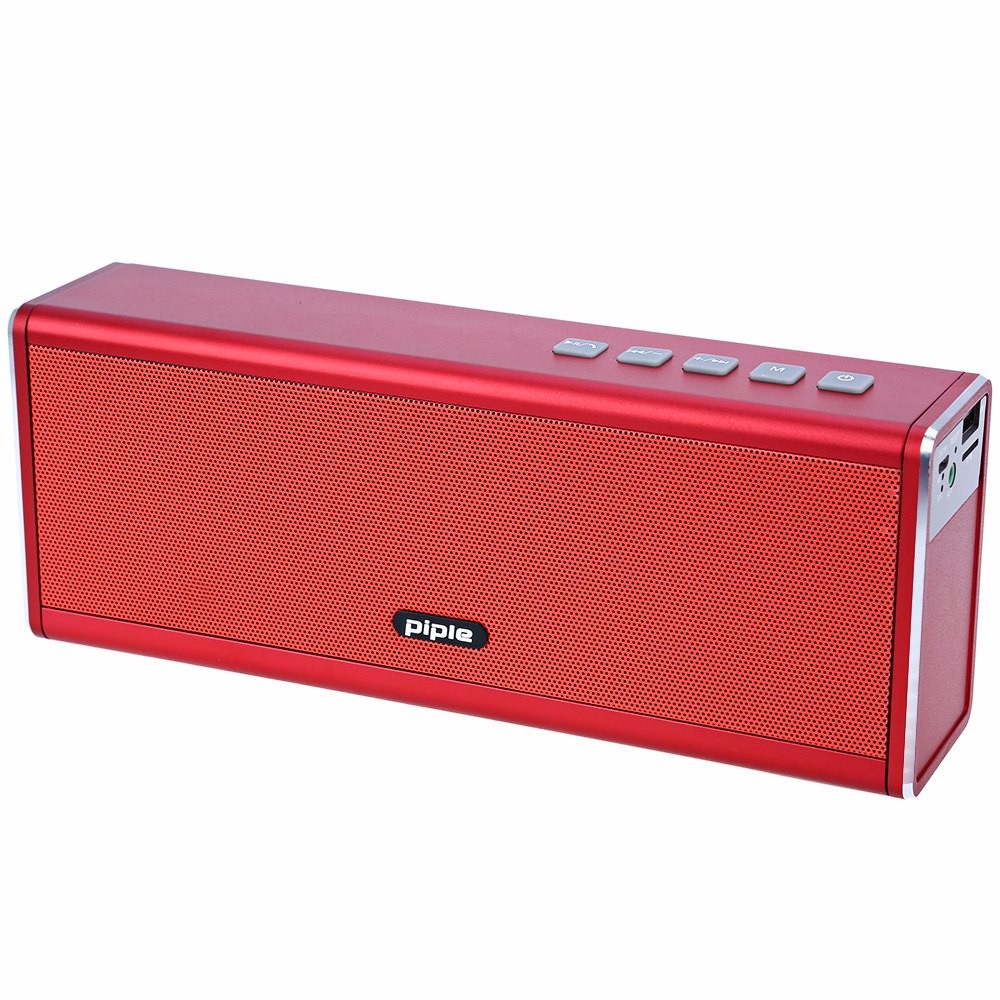 S5 Bluetooth Speaker Power Bank 20W Portable Mini Computer Speaker Wireless Loudspeaker 4000mah Rechargeable Battery remax h1 desktop speaker leather straps power bank mini portable speaker rb h1 hifi box and 8800mah power bank 2 in 1 function