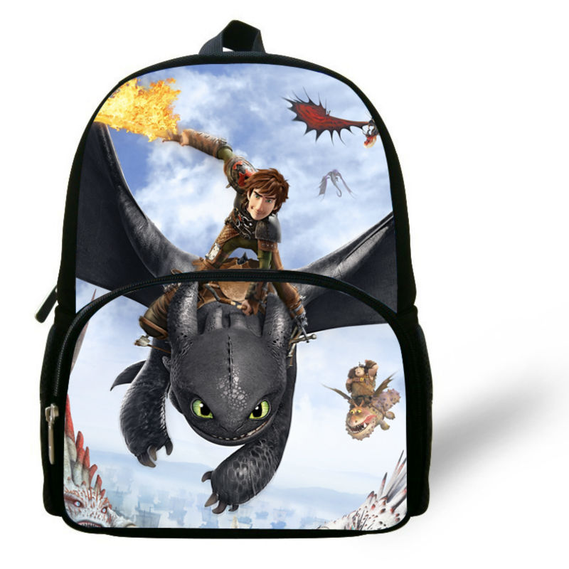 2deafc38527 How to Train Your Dragon Kids Bag Hiccup ride Dragon fight sword Printing  Backpack for Baby infants' school bag children Bookbag-in Backpacks from  Luggage ...