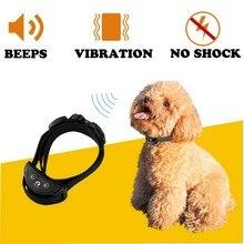 Ошейник для собак с защитой от лай, подходит для маленьких собак, Регулируемая чувствительность, автоматический звук, вибрация, Анти лай, ошейник