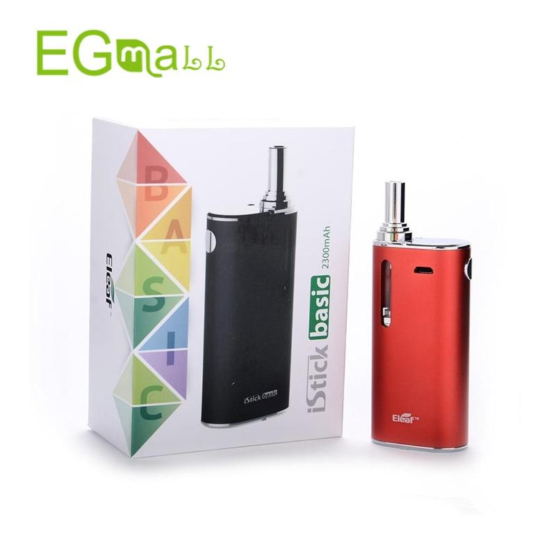 Eleaf iStick Basic Kit Electronic cigarette 2300mah Battery GS-Air 2 Atomizer 2ml E-liquid vaporizer vs istick 30w 40w 50w