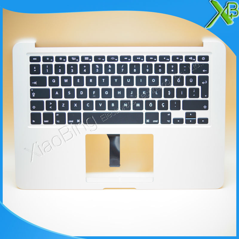 New TopCase with TR Turkish Turkey Keyboard for MacBook Air 13.3 A1466 2013-2015 years new tr keyboard for samsung np rf510 rf511 turkey laptop keyboard with touch palmrest cover topcase