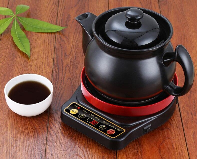 Электрический чайник автоматический китайской медицины горшок отвар Электрический кипения безопасности автоматическое выключение Функц...