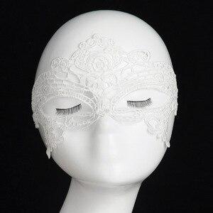 Image 3 - 2020 New Girls Women Sexy Ball Lace Mask Catwoman Masquerade Dancing Party Eye Mask Cat Halloween Fancy Dress Costume