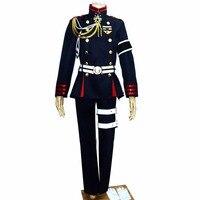 Seraph of the End Vampire Reign Owari no Seraph Cosplay Costume Guren Ichinose Military Uniform Army Uniform Halloween Costumes