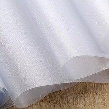 Scrub electrostatic frosted glass film sticker foil completely opaque bathroom balcony windw sticker home decor 20/30/45*500cm