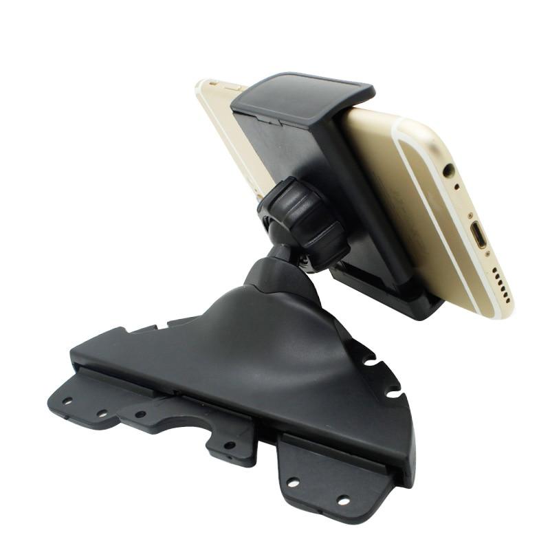 Universal Car Mount Holder stand support car phone holder CD Player Slot Cradle for Smartphone Mobile Phone