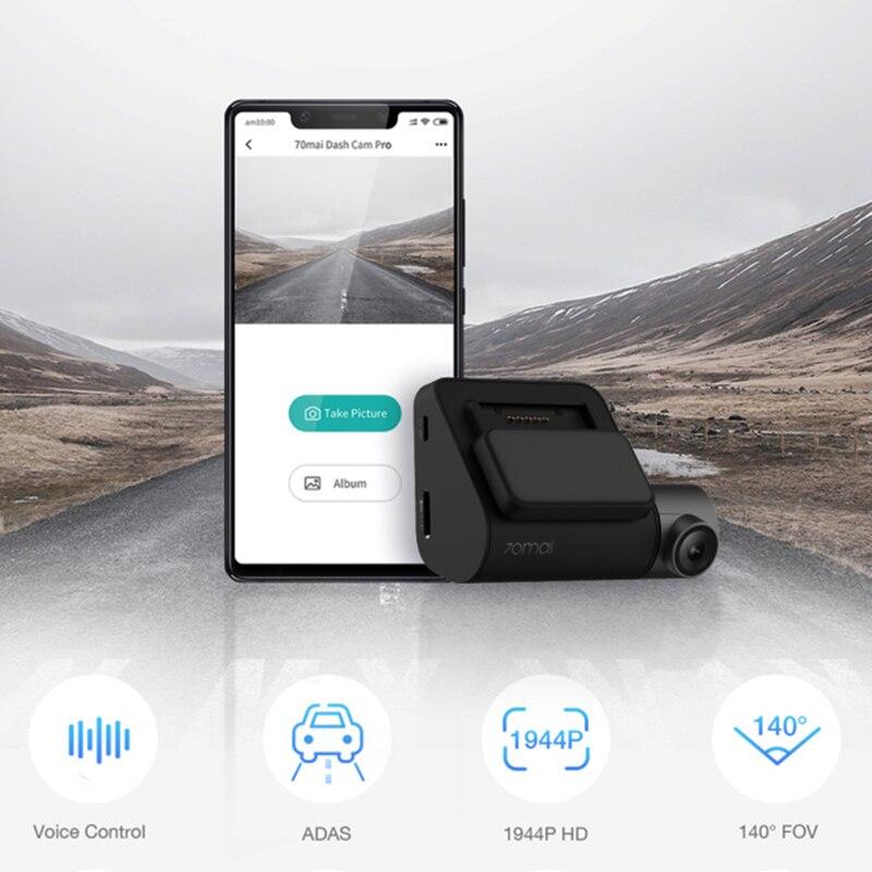 70mai Dash Cam Pro 1944P HD GPS ADAS Car DVR Wifi Dash Camera Voice Control 24H Parking Monitor Night Vision Video Recorder - 2